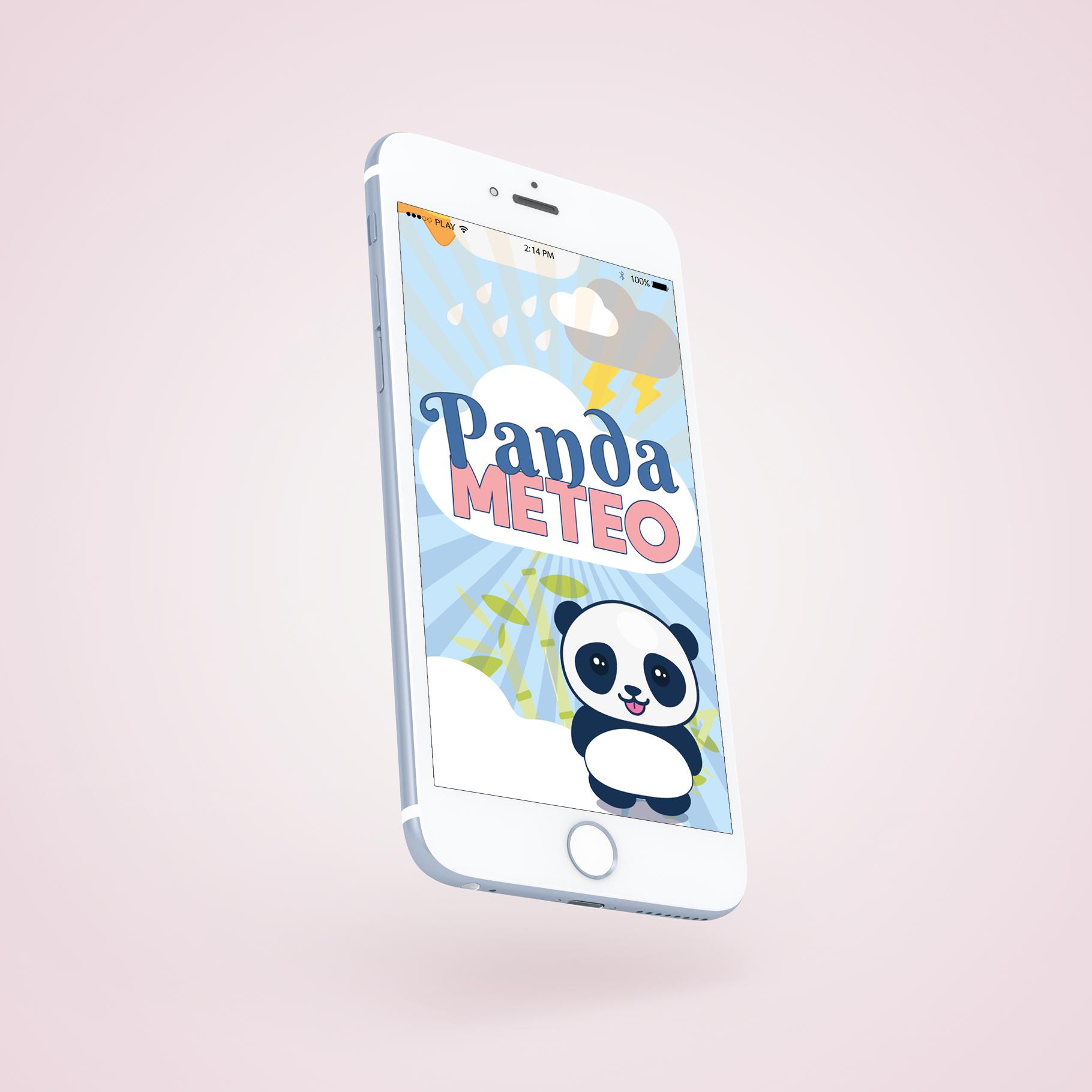 appli mobile Panda Meteo