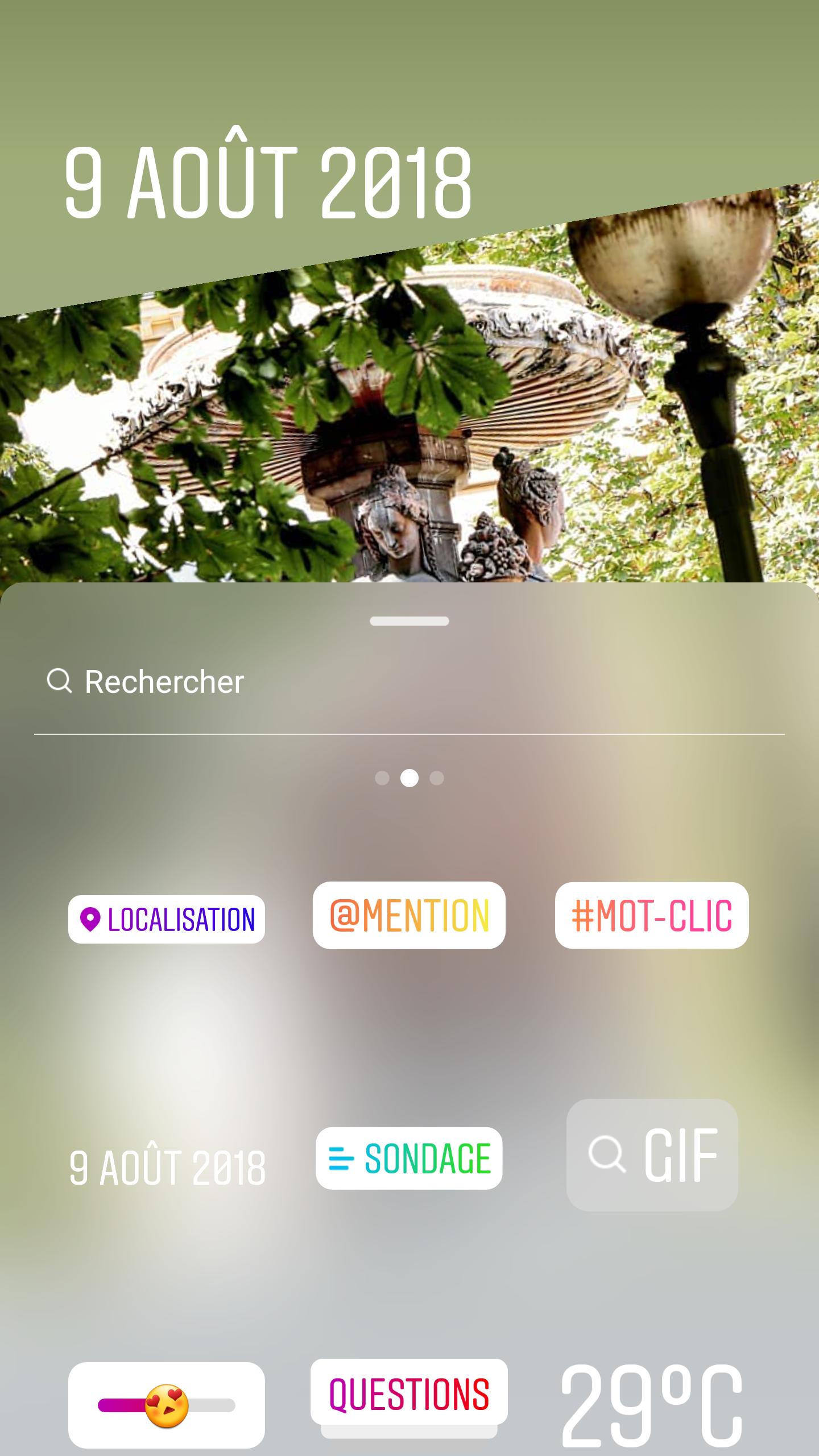 story instagram tuto